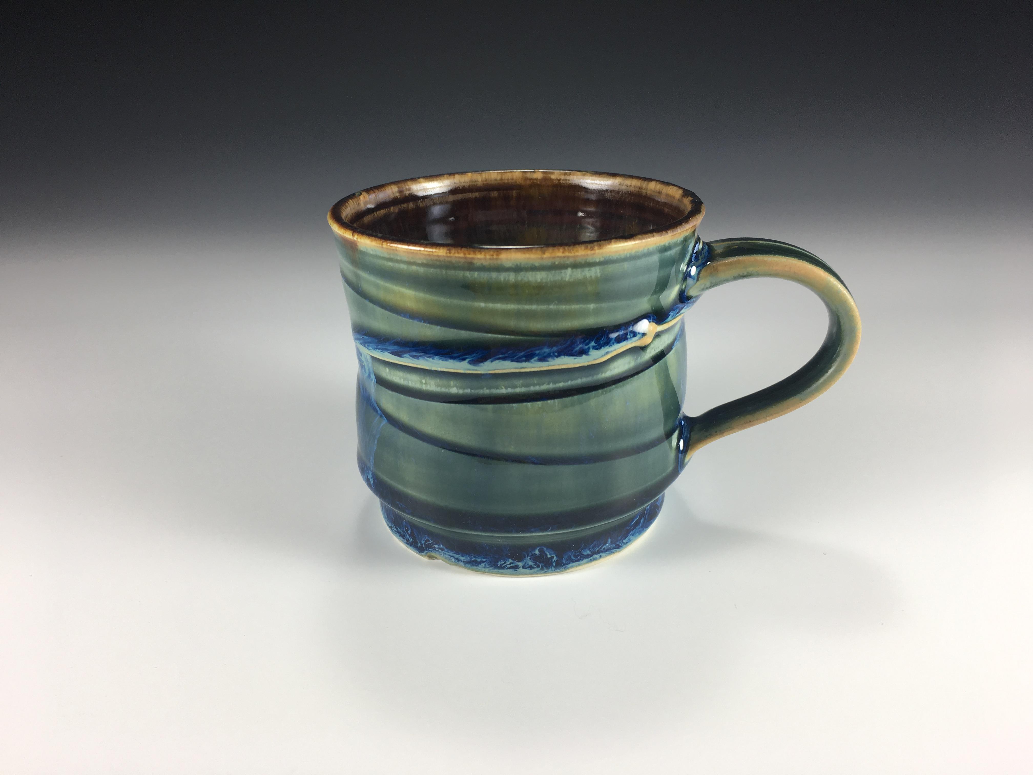 Small Blue Mug
