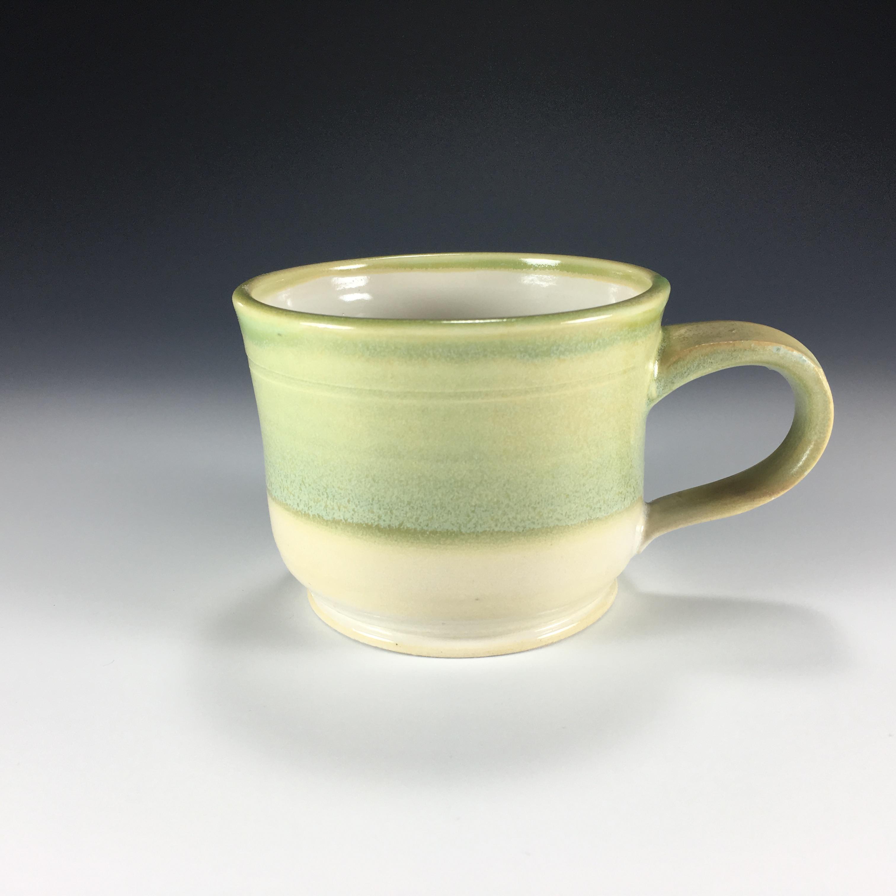 Moss Green Teacup