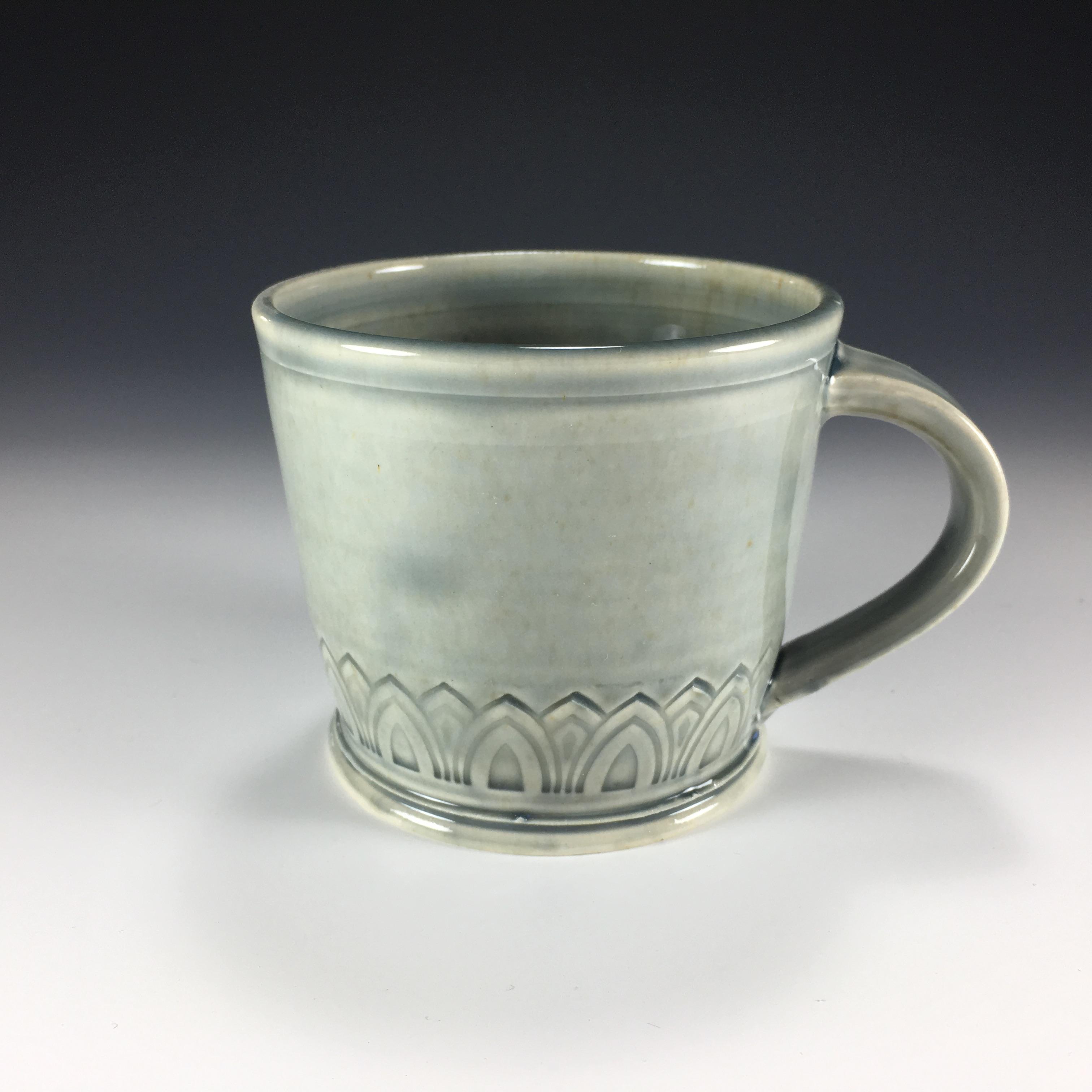 Blue Gray Mug