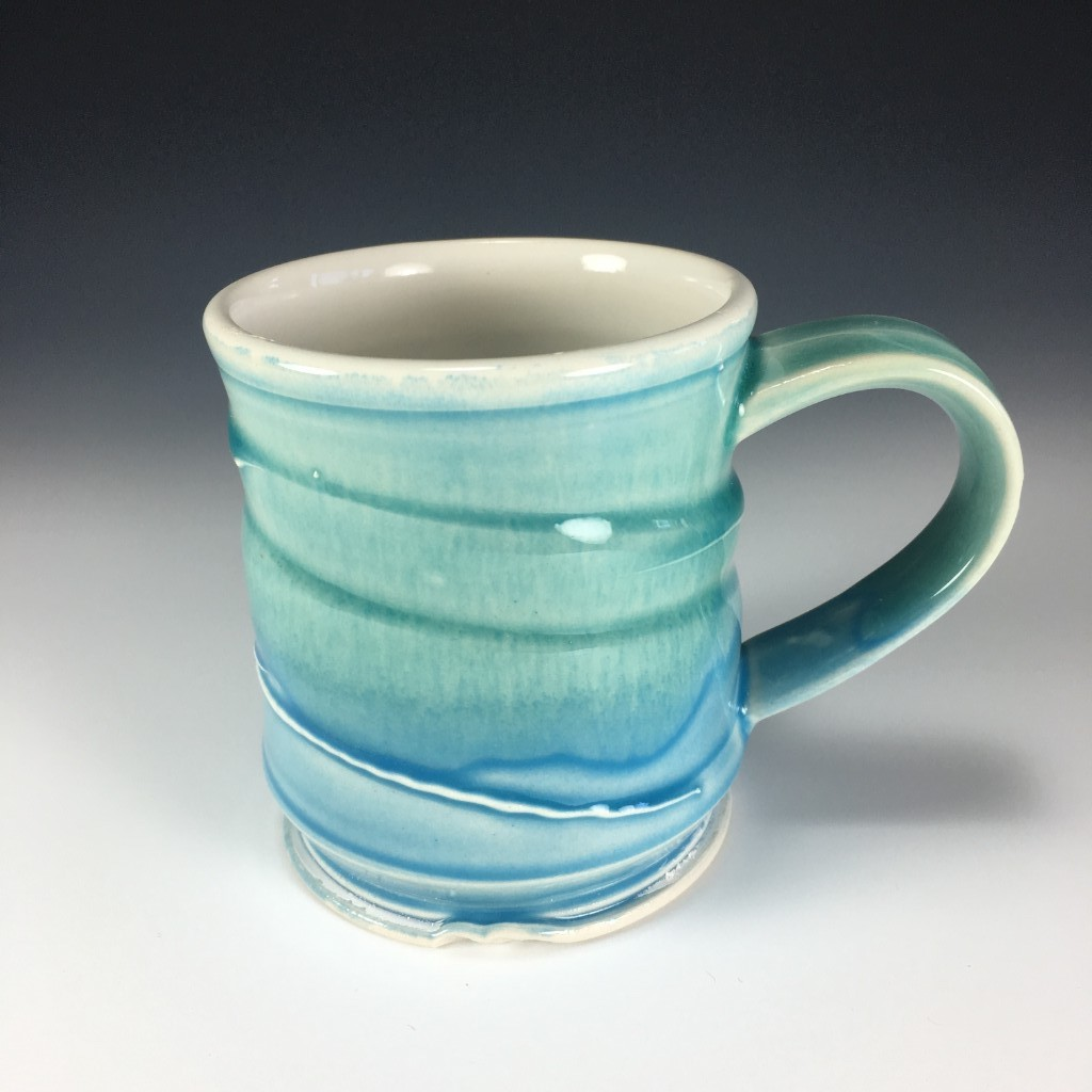 Blue Green Mug